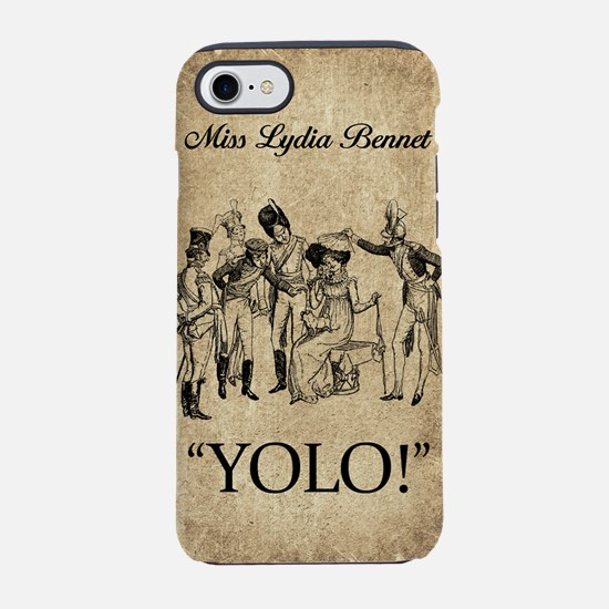 Lydia Bennet YOLO iPhone 7 Tough Case