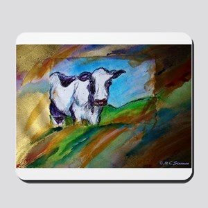 Colorful, Dairy, Cow, Mousepad
