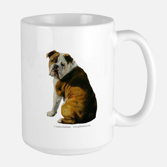 Bulldog Large Mug
