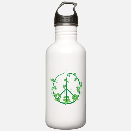 Green Peace Water Bottle
