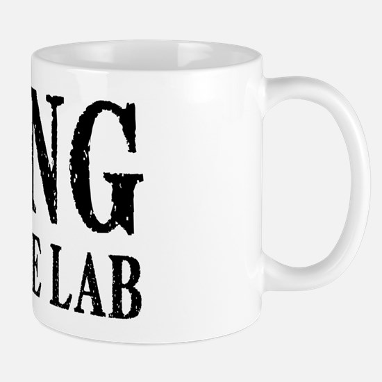 King of the Lab Mug