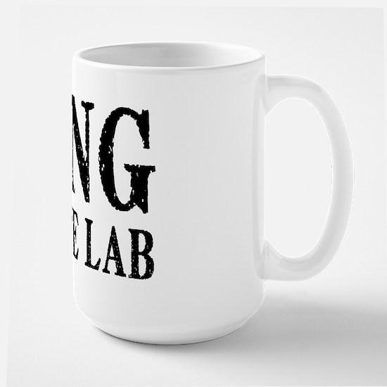 King of the Lab Large Mug