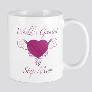 World's Greatest Step Mom (Heart) Mug
