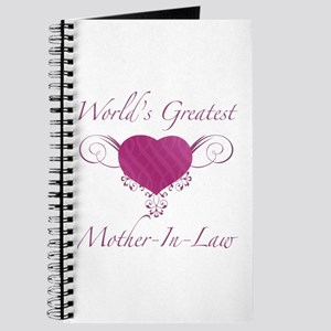 World's Greatest Mother-In-Law (Heart) Journal