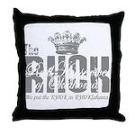 RHOK transparent Throw Pillow