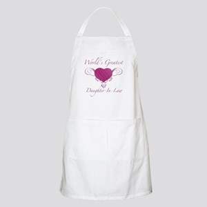 World's Greatest Daughter-In-Law (Heart) Apron