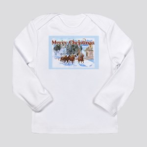 Riding Home for Christmas Long Sleeve Infant T-Shi