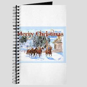 Riding Home for Christmas Journal