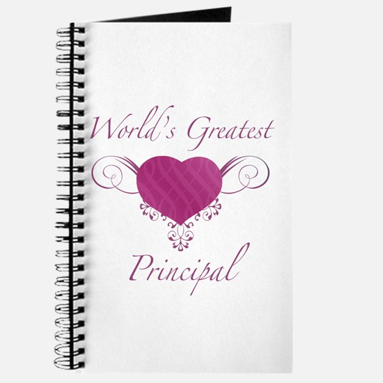 World's Greatest Principal (Heart) Journal