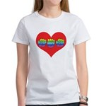 Mom Inside Big Heart Women's T-Shirt