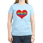 Mom Inside Big Heart Women's Light T-Shirt