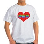 Mom Inside Big Heart Light T-Shirt