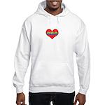 Mom Inside Small Heart Hooded Sweatshirt