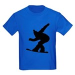Snowboarding Kids Dark T-Shirt