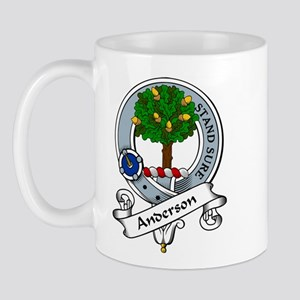 Anderson Clan Badge Mug