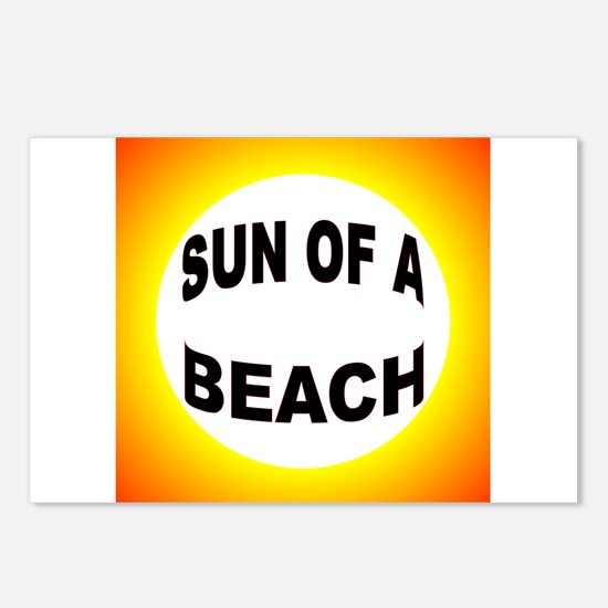 LOVE THE BEACH Postcards (Package of 8)