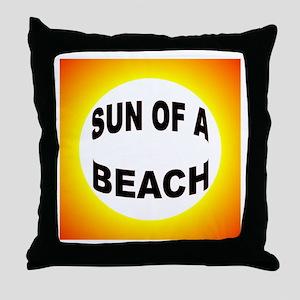 LOVE THE BEACH Throw Pillow