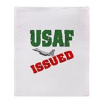 USAF Issued Throw Blanket