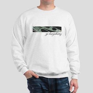 Go kayaking, add color to you Sweatshirt
