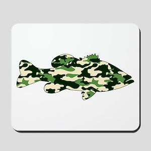 CAMO BASS Mousepad