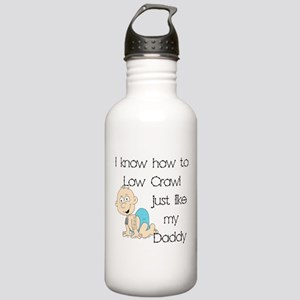 USNG Low Crawl Like Daddy Stainless Water Bottle 1