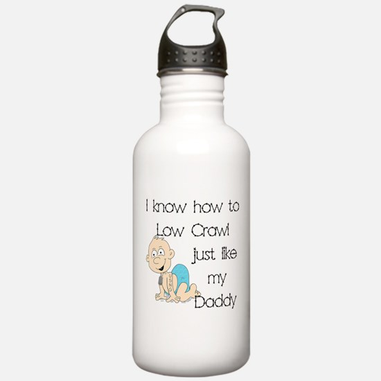 USNG Low Crawl Like Daddy Water Bottle
