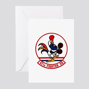 67th Fighter Squadron Greeting Cards (Pk of 10