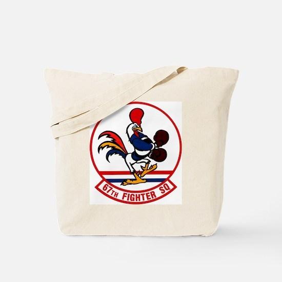 67th Fighter Squadron Tote Bag