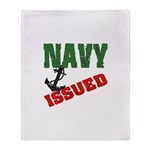 Navy Issued Throw Blanket