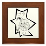 Gonad The Barbarian Framed Tile
