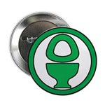 "Green Latrine 2.25"" Button"
