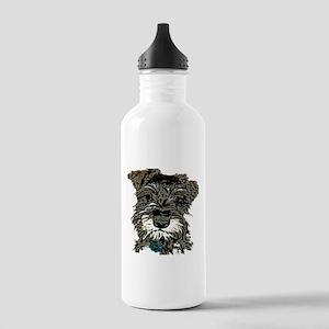 Mini Schnauzer Stainless Water Bottle 1.0L