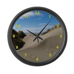 Pacific Dune Scene Large Wall Clock