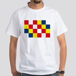 Antwerp Flag White T-Shirt