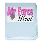 Air Force Brat ver1 baby blanket