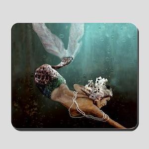 The Descent Mermaid Mousepad
