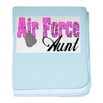Air Force Aunt baby blanket