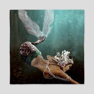 The Descent Mermaid Queen Duvet