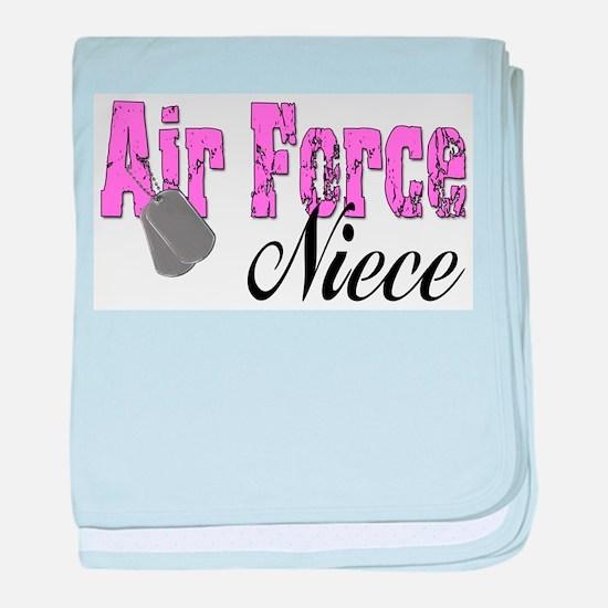 Air Force Niece baby blanket