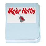 Army Major Hottie baby blanket