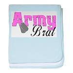 Army Brat baby blanket