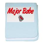 USCG Major Babe baby blanket