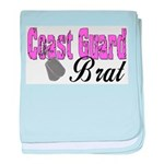 Coast Guard Brat baby blanket