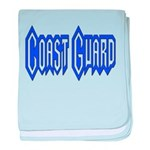 Coast Guard baby blanket