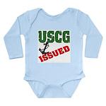 USCG Issued Long Sleeve Infant Bodysuit