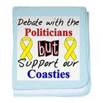 Debate Politicians Support ou baby blanket