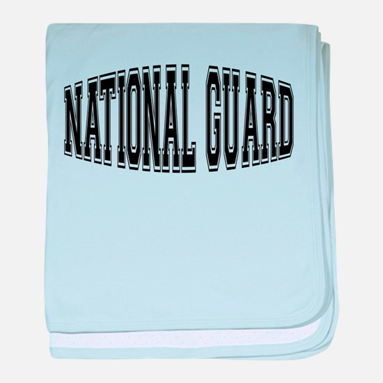 National Guard baby blanket
