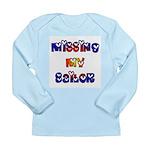 Missing My Sailor Long Sleeve Infant T-Shirt
