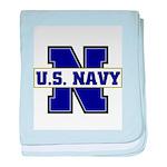U S Navy baby blanket