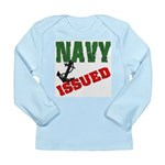 Navy Issued Long Sleeve Infant T-Shirt